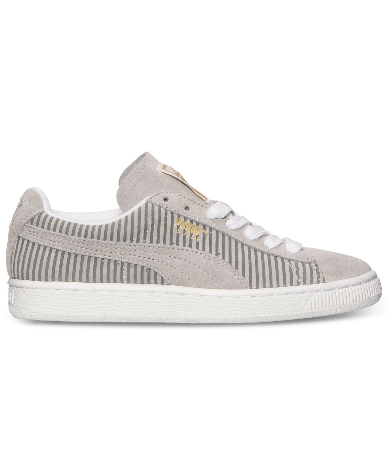 Lyst - PUMA Women S Suede Classic Lo Casual Sneakers From Finish ... 07b0f3104