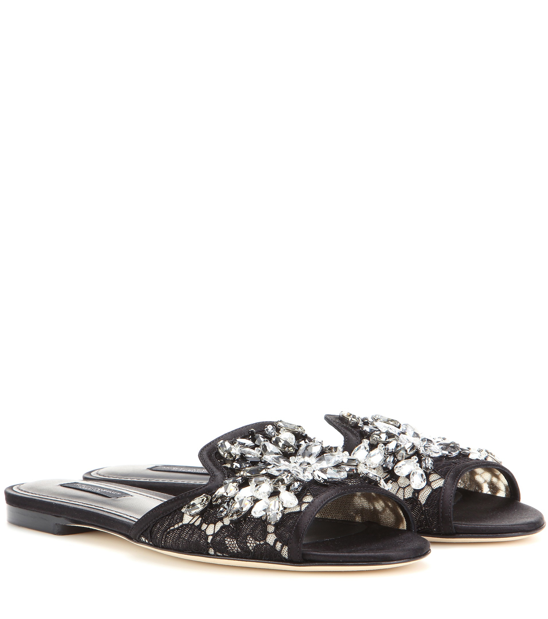 Dolce & Gabbana Lace slippers omo5H142fy