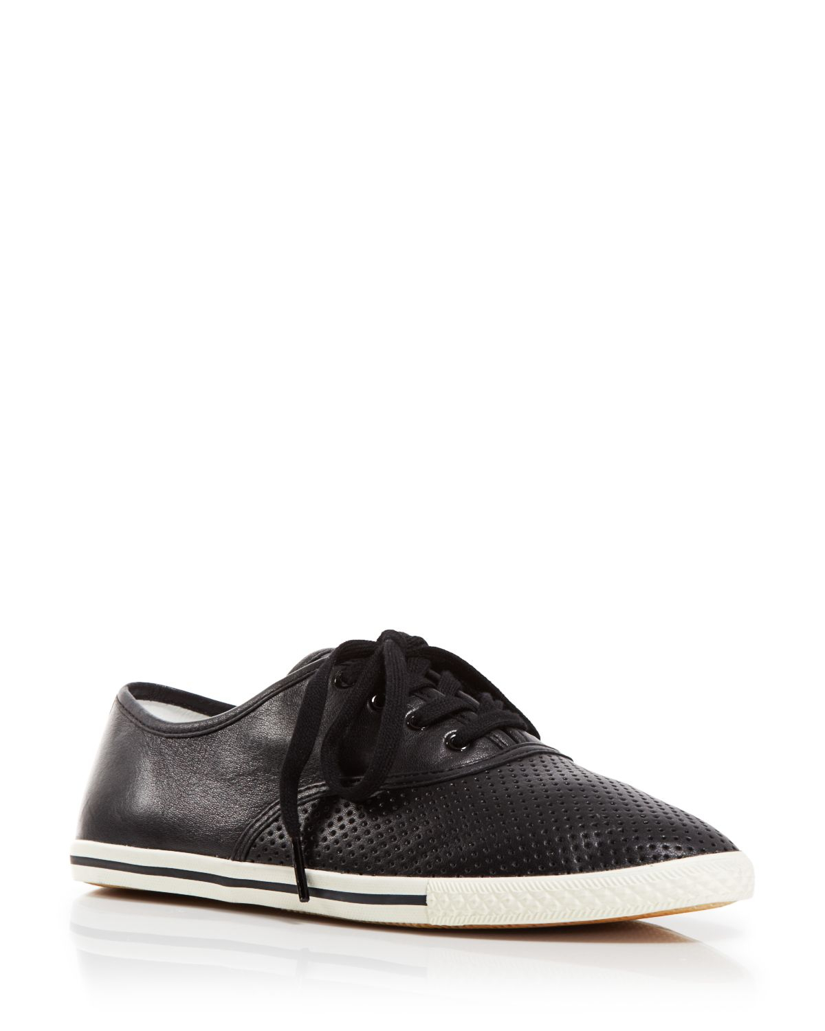 Marc By Marc Jacobs Woman Carter Perforated Leather Sneakers Black Size 40 Marc Jacobs bFzy45