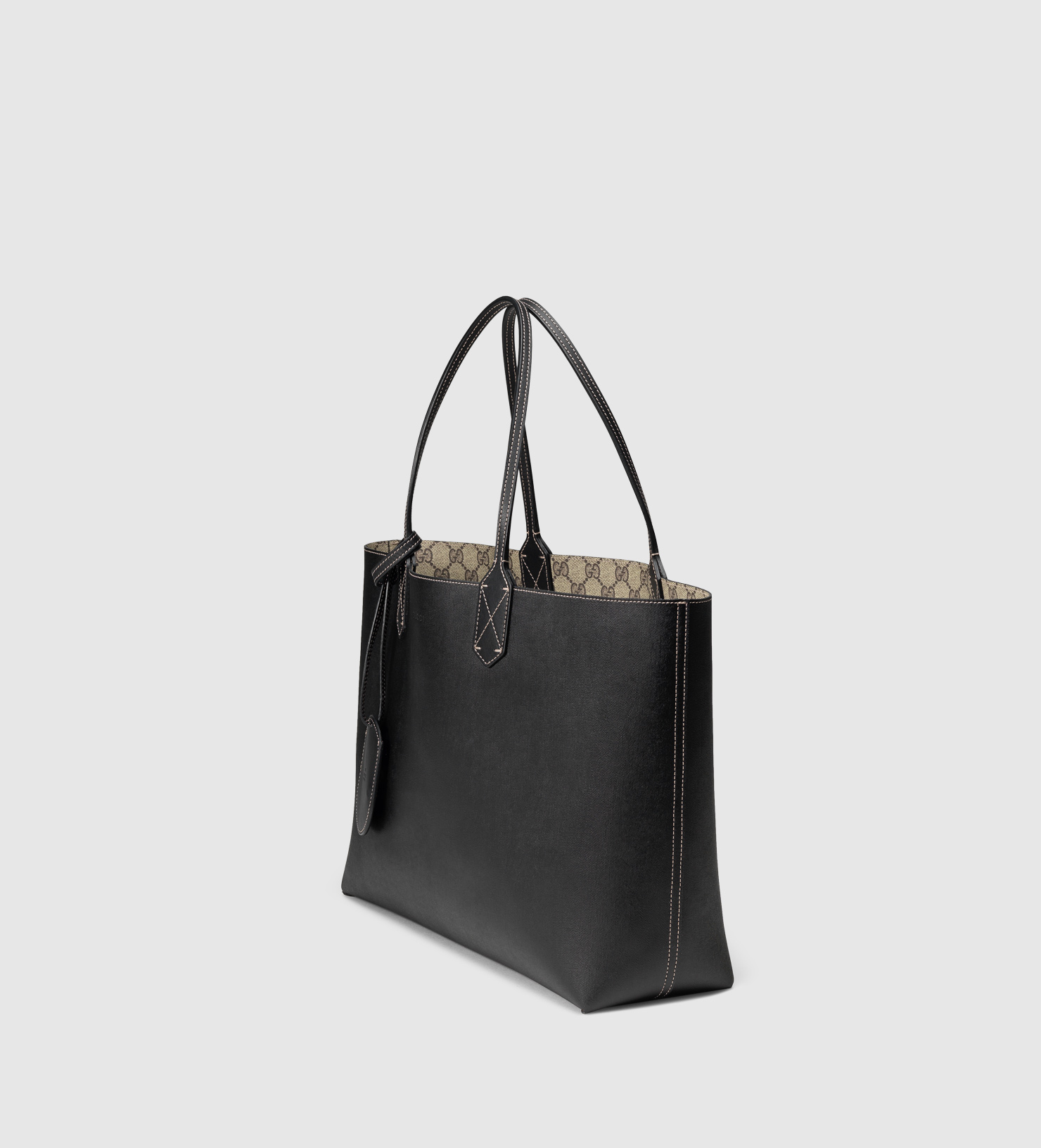 f55c4285fc37d9 Gucci Black Reversible Tote | Stanford Center for Opportunity Policy ...