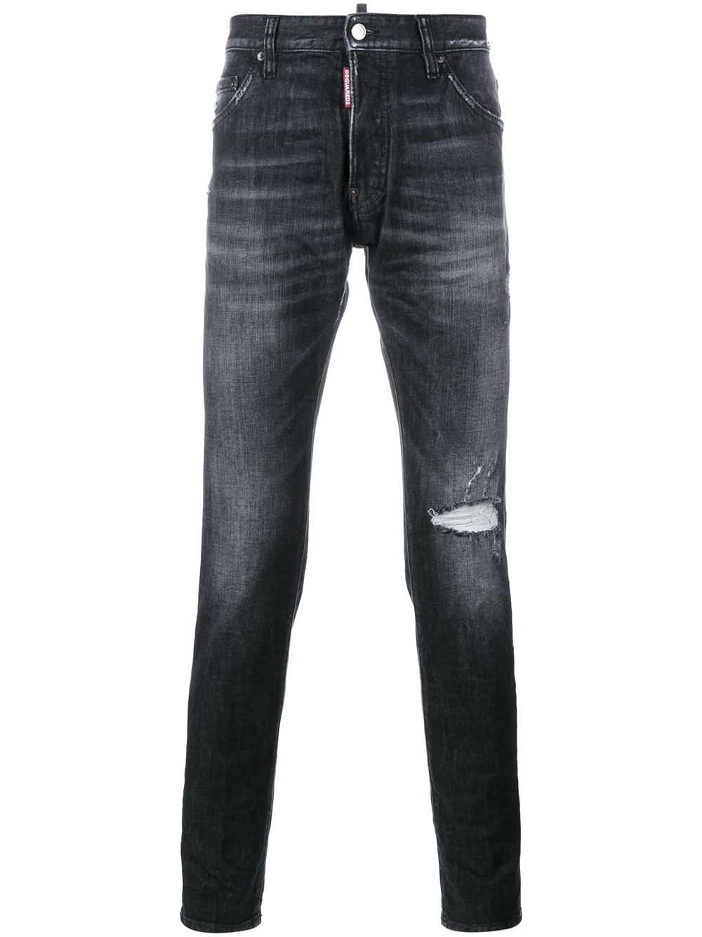 Dsquared² Cool Guy Distressed Jeans in Black for Men | Lyst