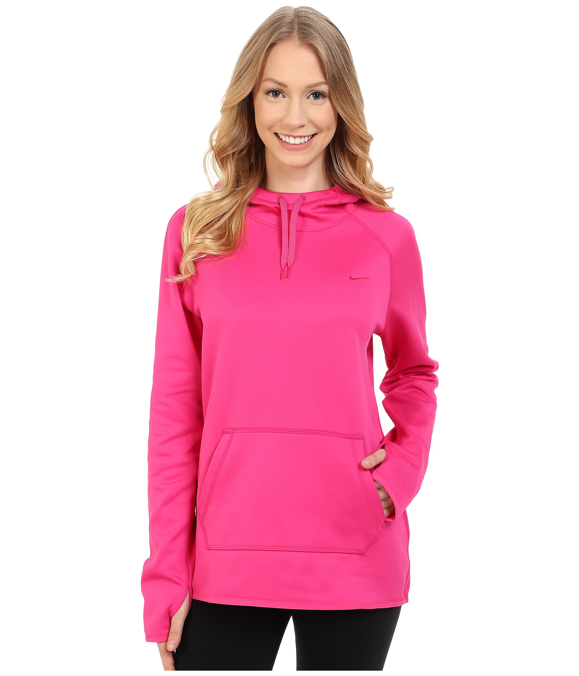b0166f6fe27d Lyst - Nike All Time Pullover Hoodie in Pink
