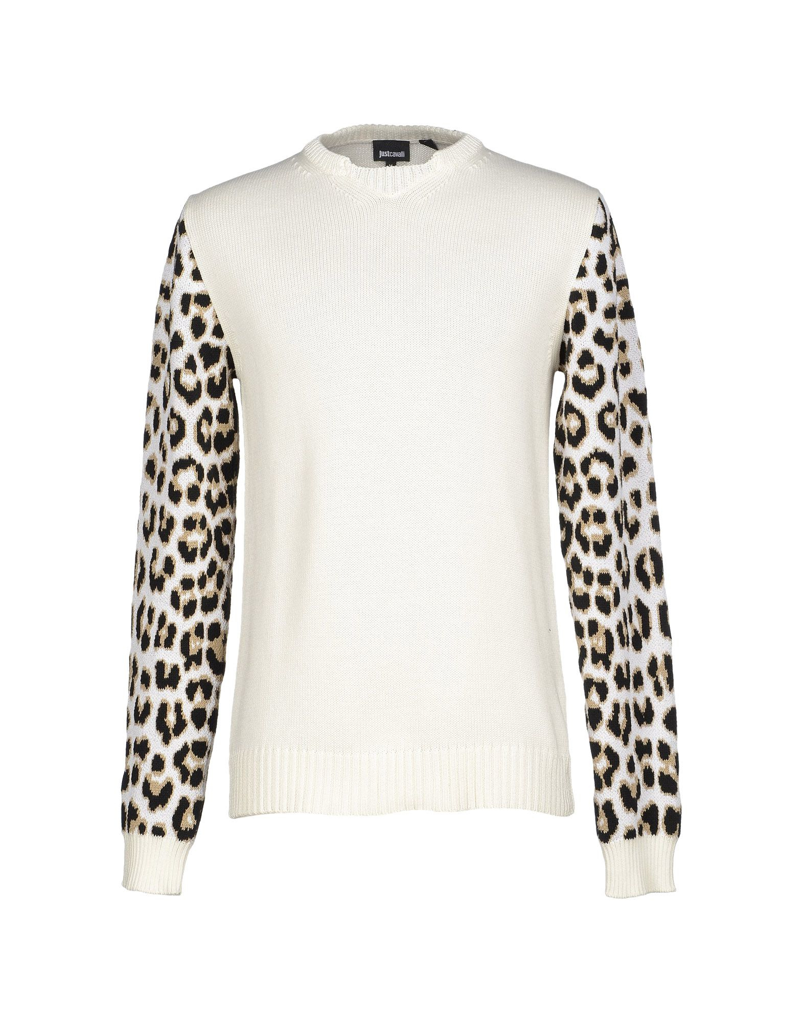 just cavalli sweater in white for men lyst. Black Bedroom Furniture Sets. Home Design Ideas
