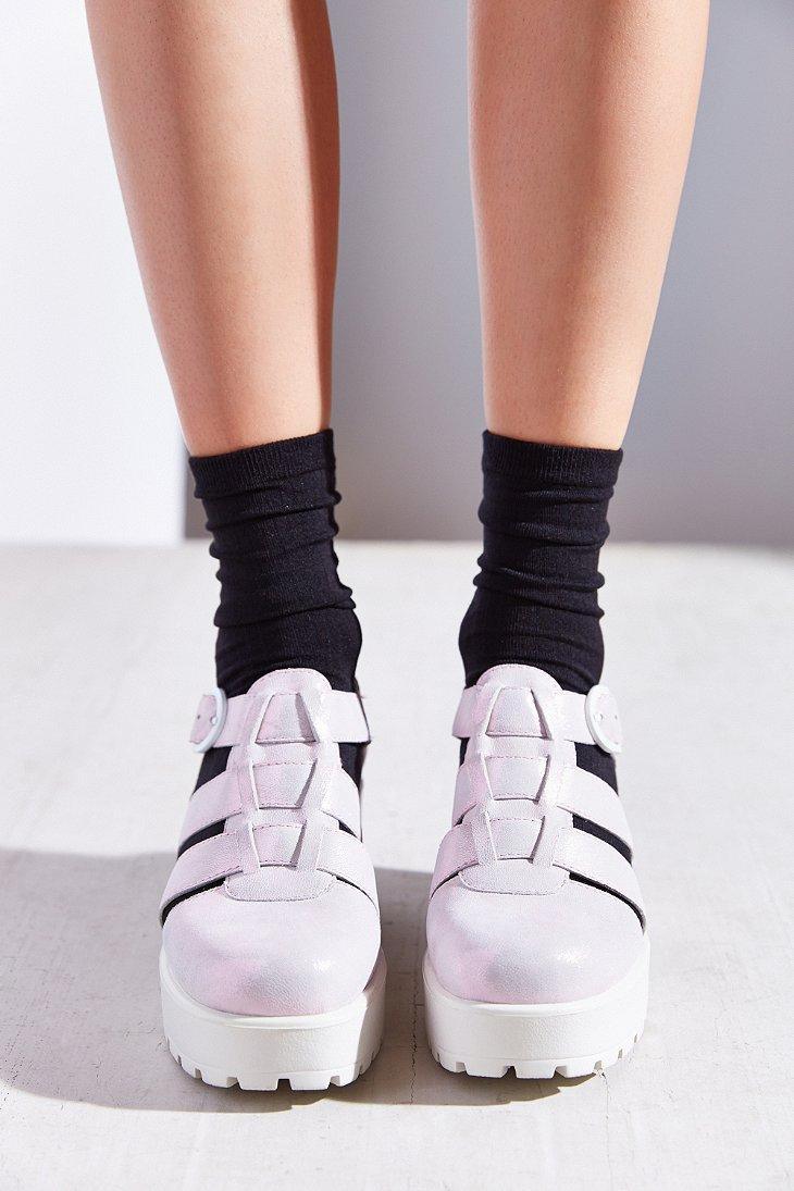 Black vagabond sandals - Gallery