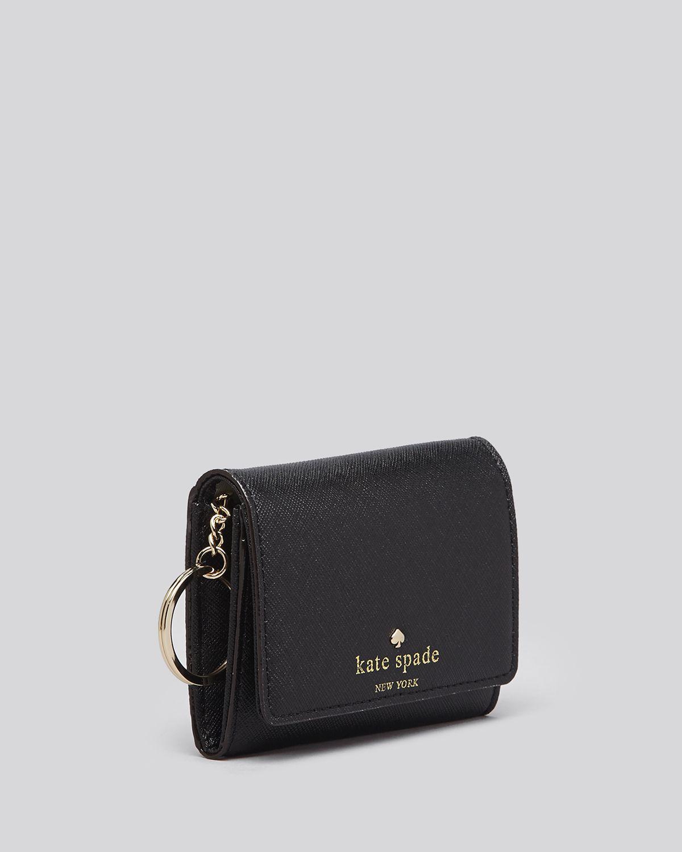174fb99443924 Lyst Kate Spade Card Case Cedar Street Darla In Black