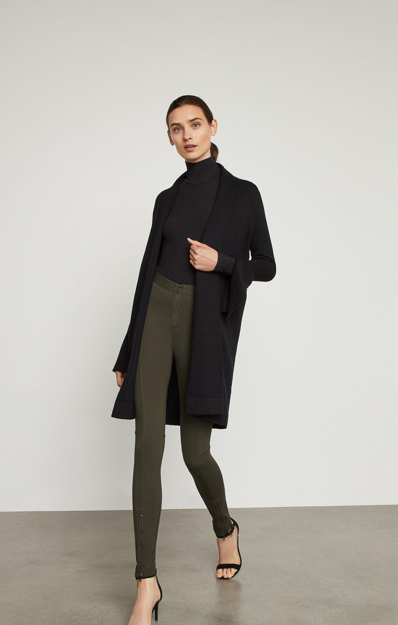 03f93cf379d BCBGMAXAZRIA Bcbg Krystal Cardigan Sweater in Black - Lyst