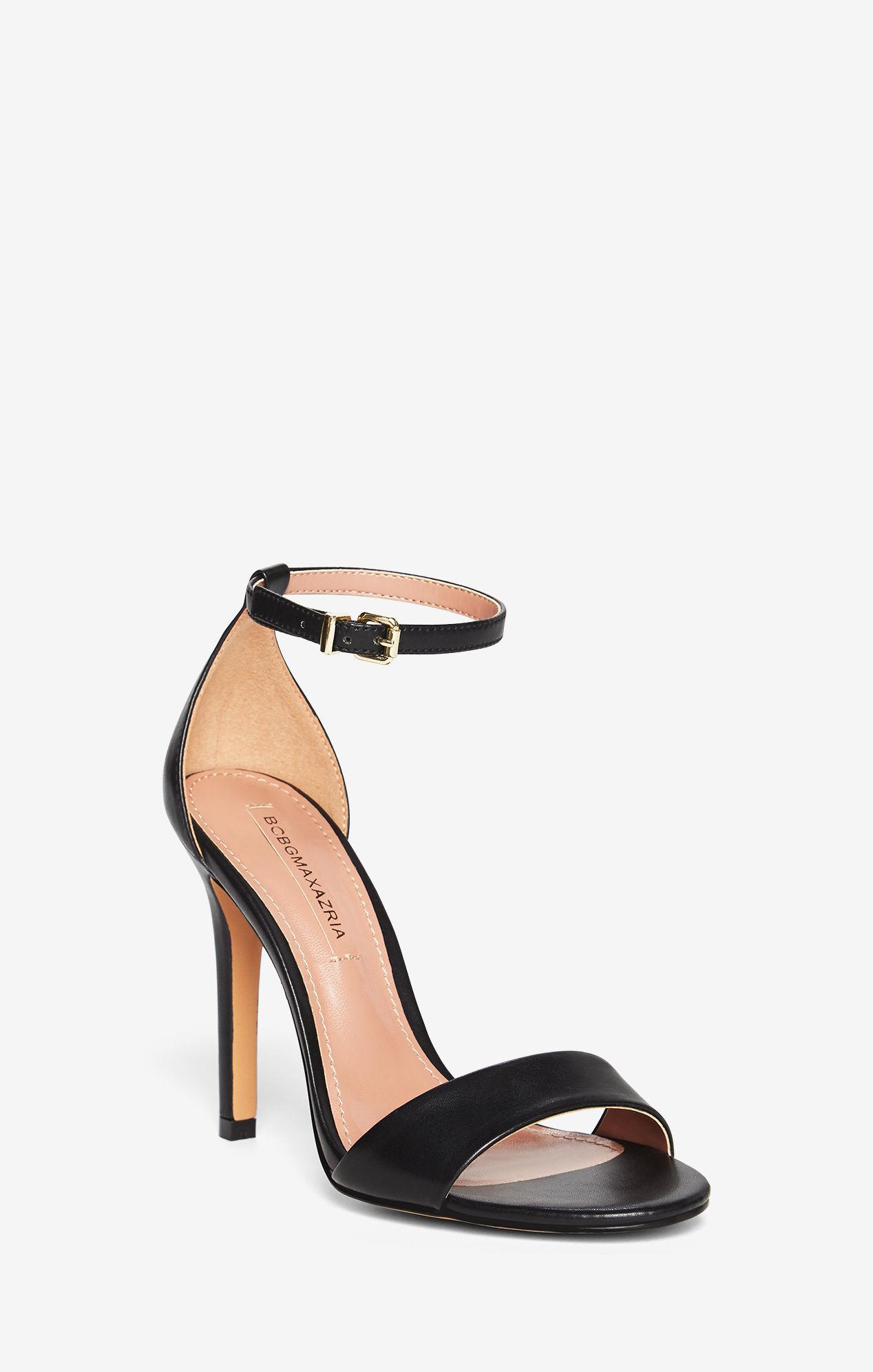 5669338e83fa BCBGMAXAZRIA Bcbg Ellettra Faux-leather Sandal in Black - Lyst