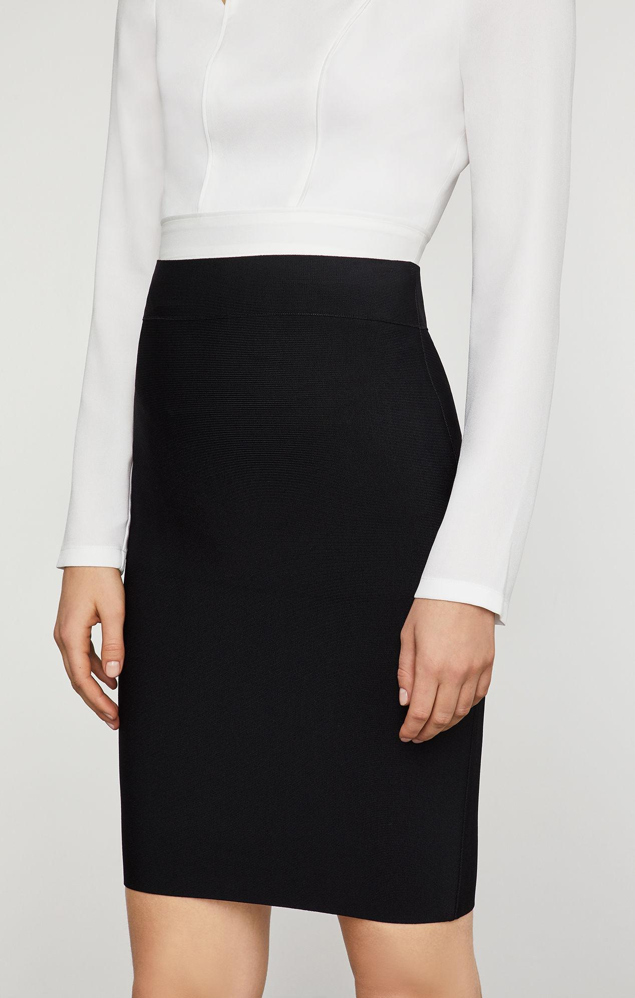 68f6976b6 BCBGMAXAZRIA - Black Bcbg Nathalia Pencil Skirt - Lyst. View fullscreen