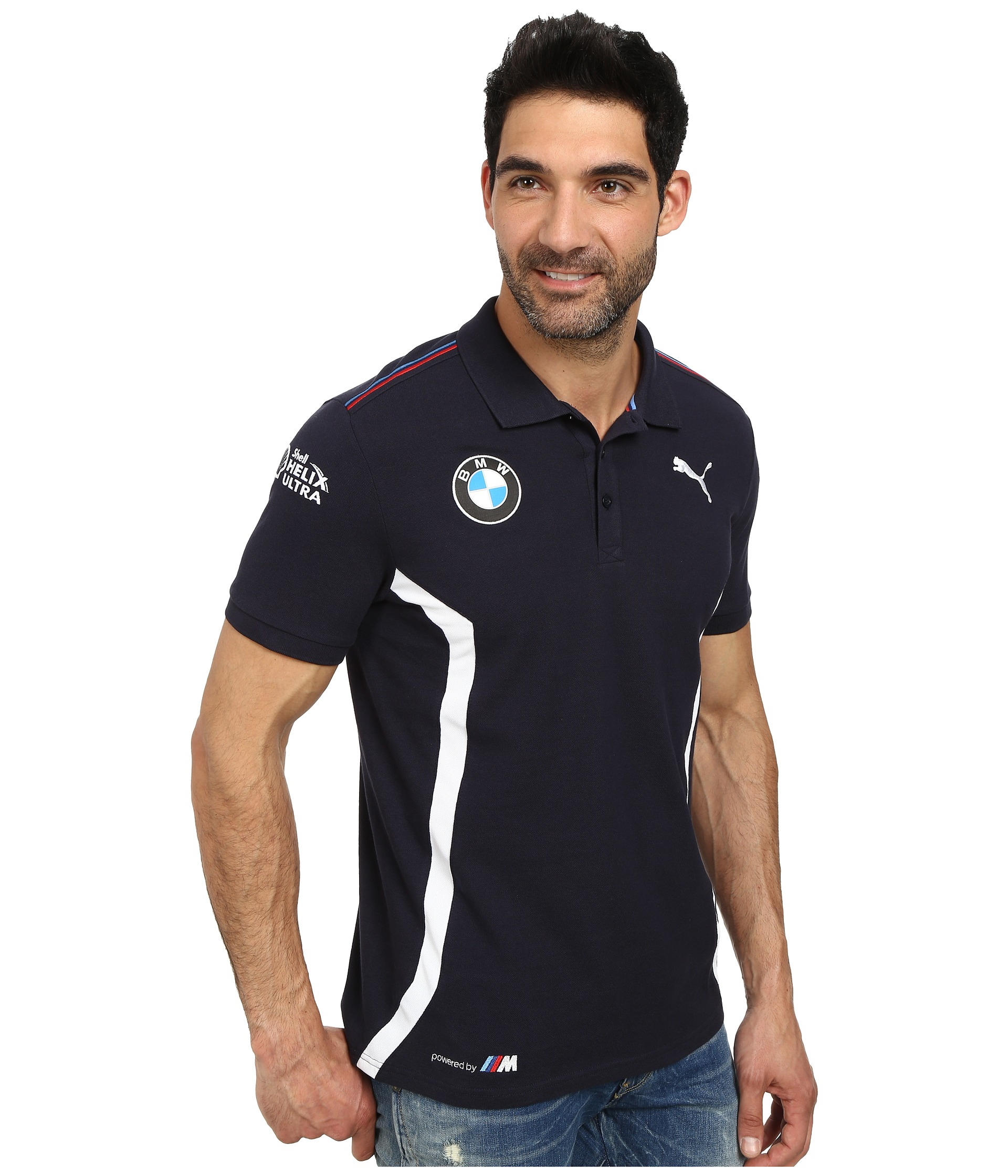 ac92524e PUMA Bmw Team Polo in Blue for Men - Lyst