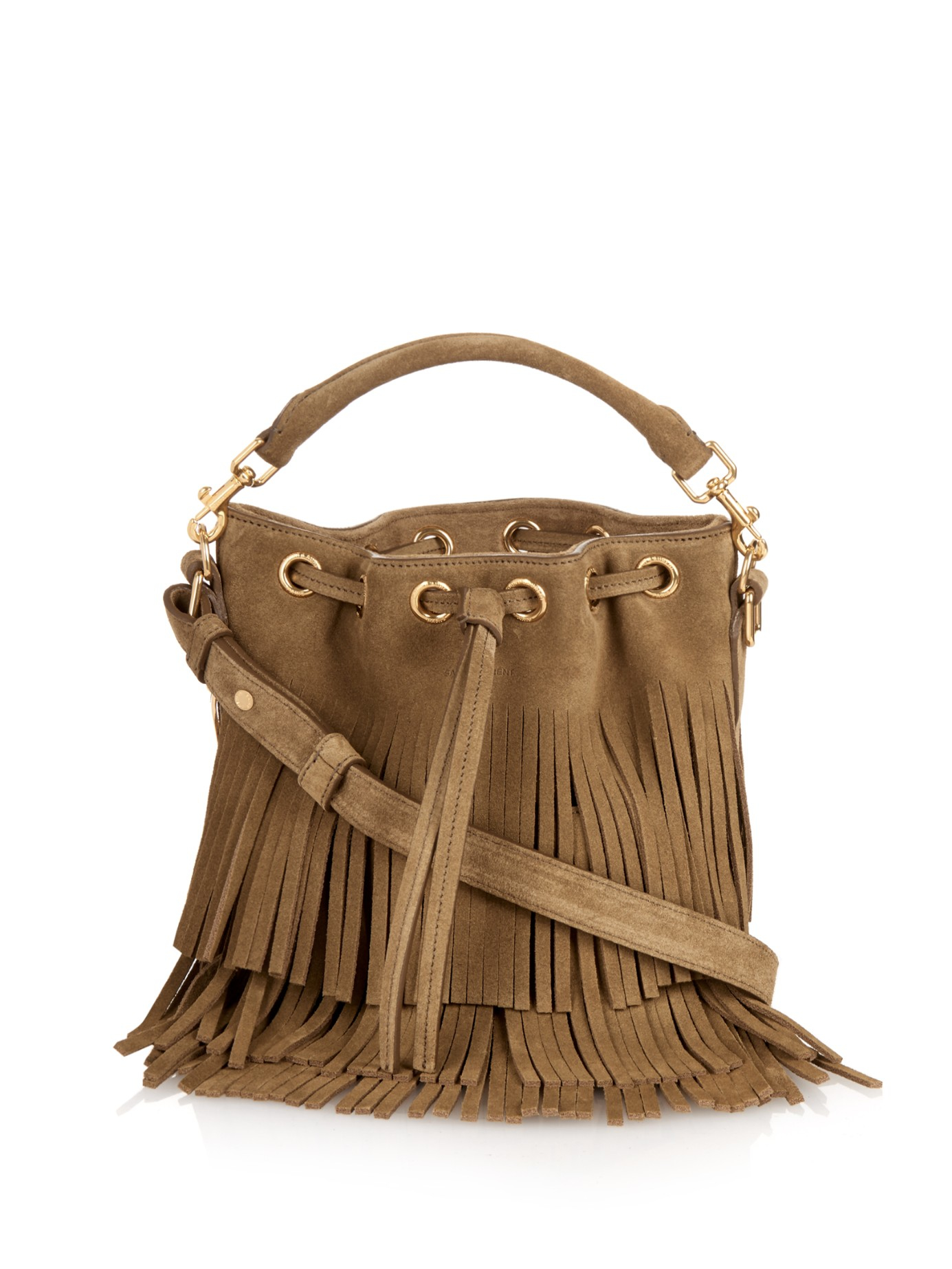 a7ed646662 Gallery. Previously sold at: MATCHESFASHION.COM · Women's Fringed Bags  Women's Saint Laurent Emmanuelle