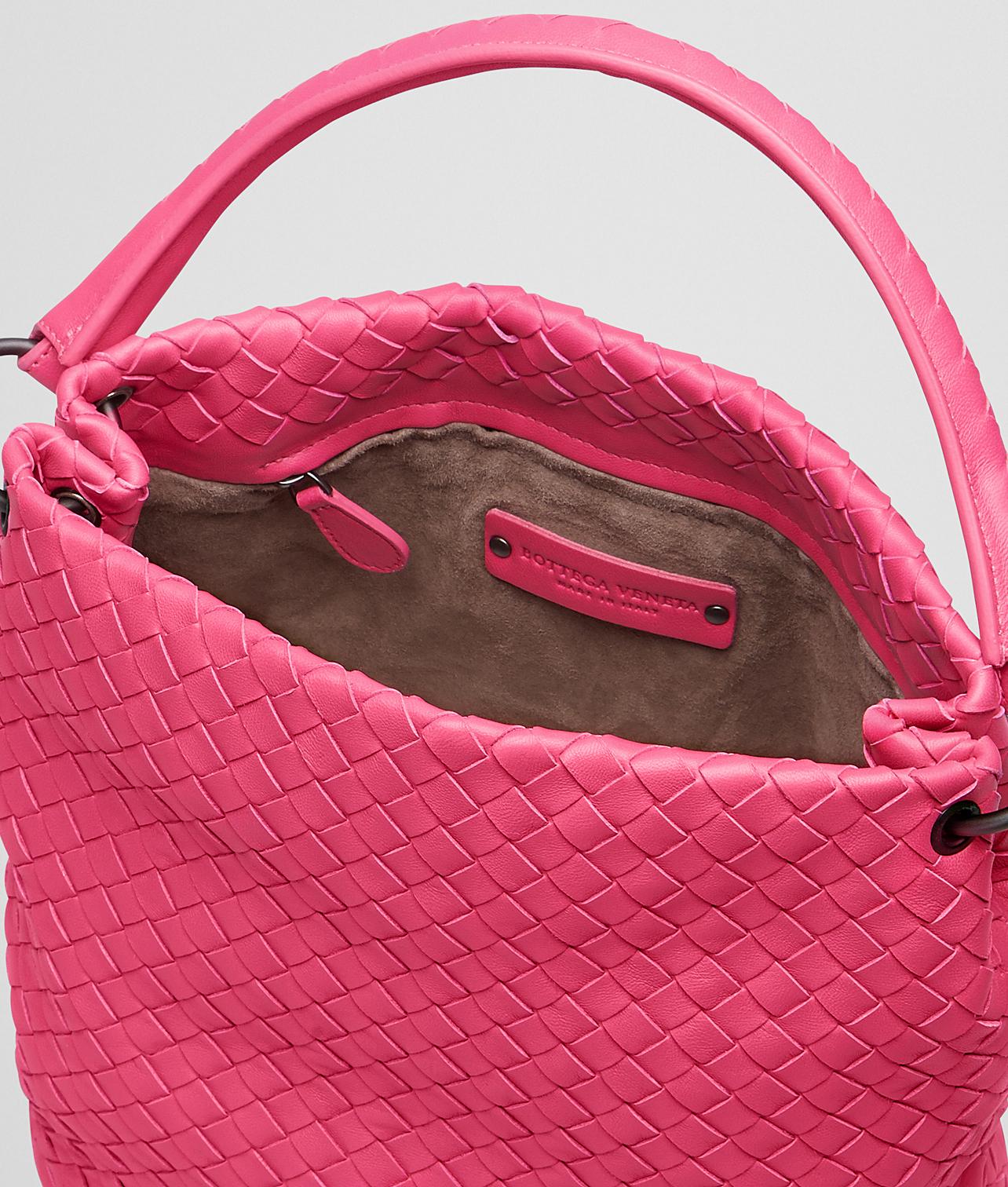 Bottega veneta Rosa Shock Intrecciato Nappa Bag in Pink (Rosa . 4488965c9c0d5