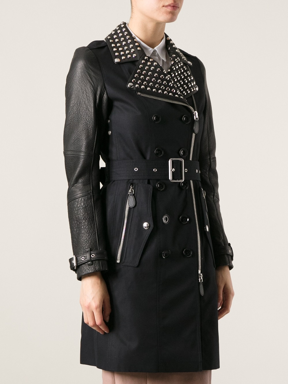 Women's Black Trench Coats. Clothing. Women. Womens Coats & Jackets. Women's Black Trench Coats. Showing 48 of 90 results that match your query. Search Product Result. Product - Plus Size Womens Autumn Fall Winter Outwear Long Trench Coat .