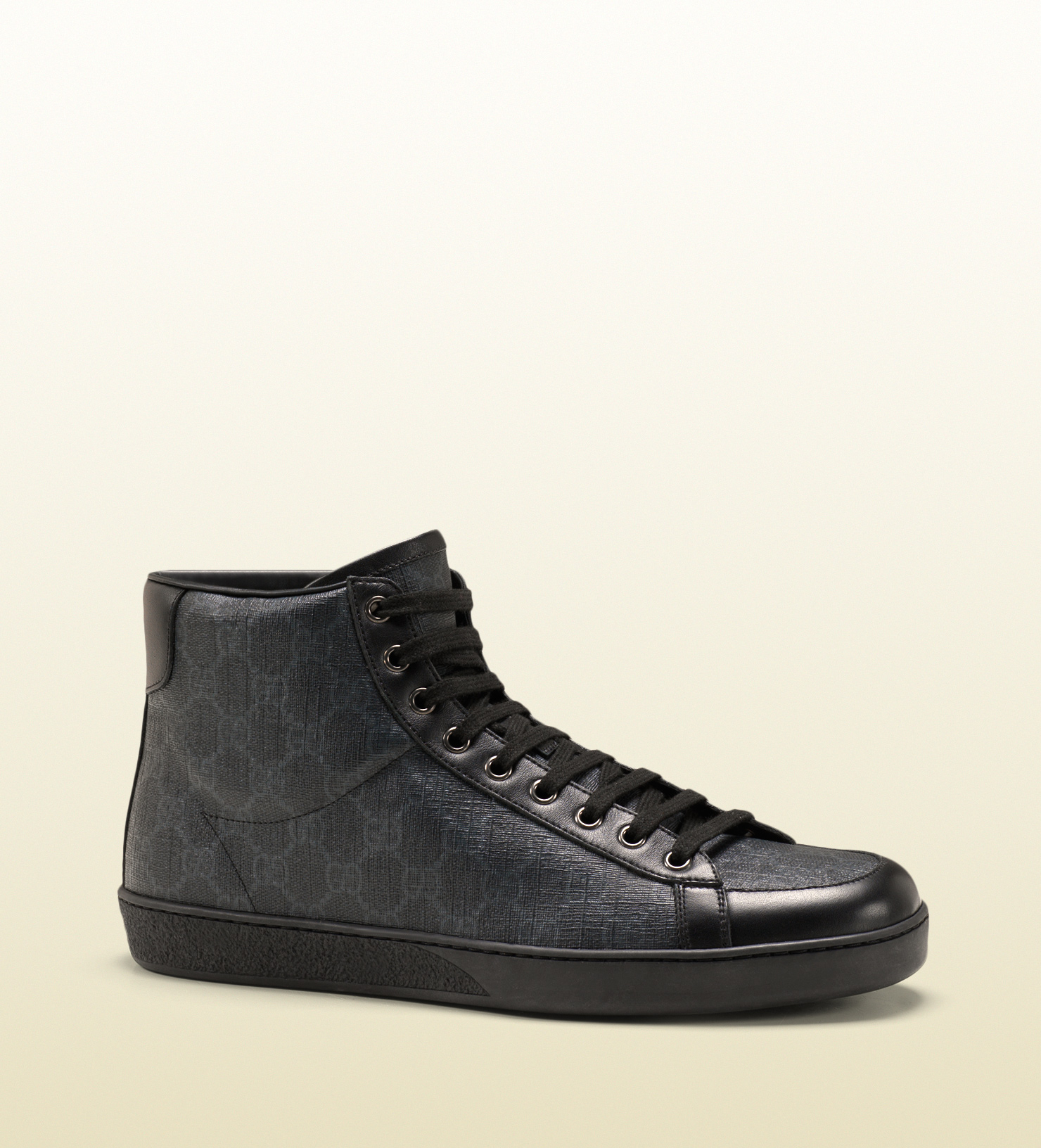 3a27c90bb9276 Gucci Gg Supreme Sneaker For Men. Gucci Gg Supreme Canvas High-top ...