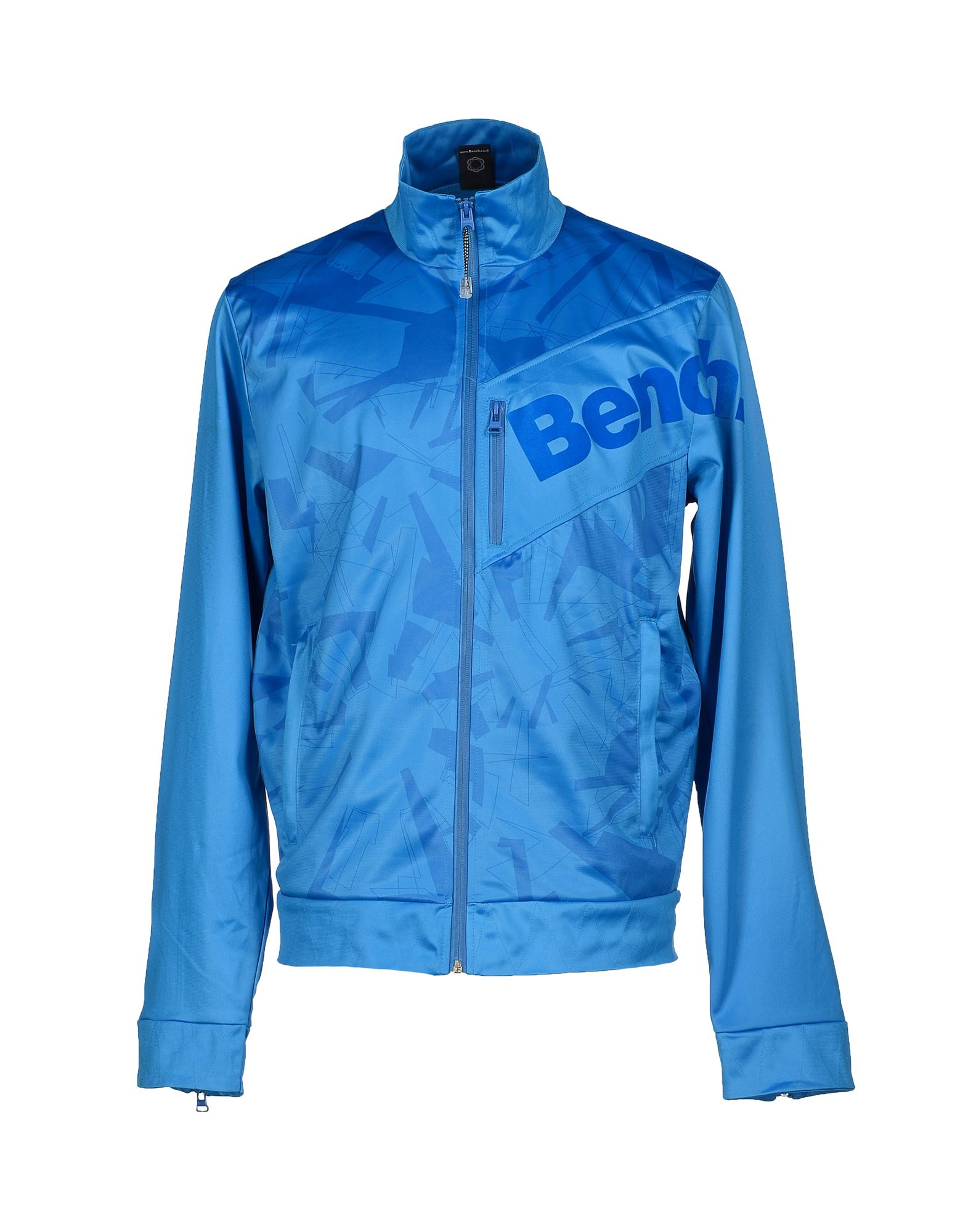 Bench Sweatshirt In Blue For Men Lyst