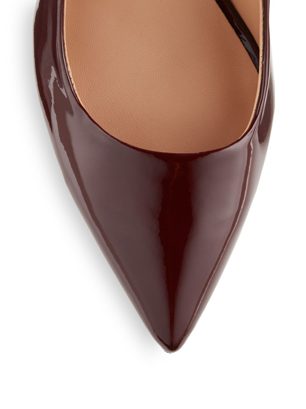 Purple Patent Heels