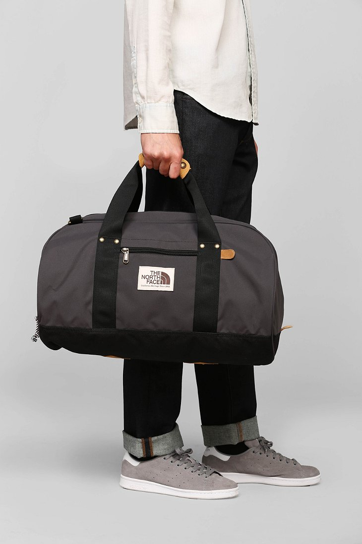the north face masen duffel bag in black for men lyst. Black Bedroom Furniture Sets. Home Design Ideas
