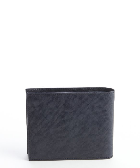 b68a191bb302b1 Prada Saffiano Leather Wallet Baltic Blue | Stanford Center for ...