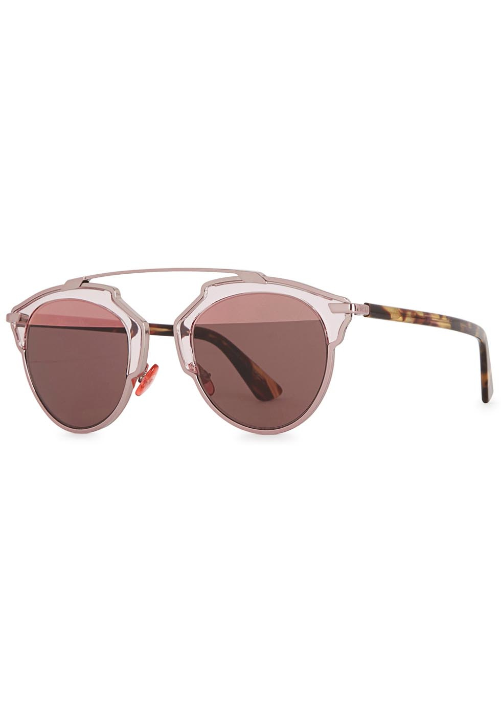 926dbb98fec Lyst - Dior   39 so Real  39  Sunglasses in Pink Christian ...