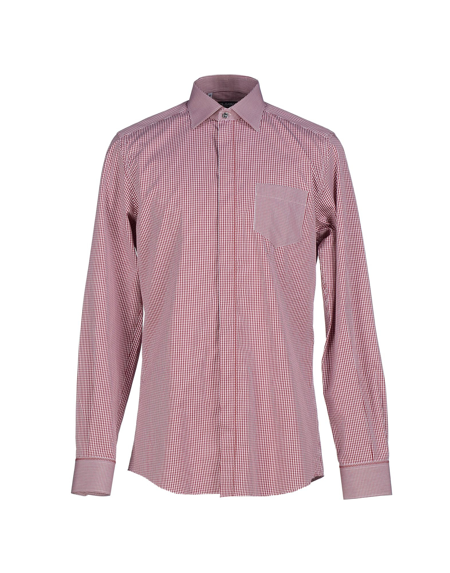 Dolce Gabbana Shirt In Red For Men Lyst