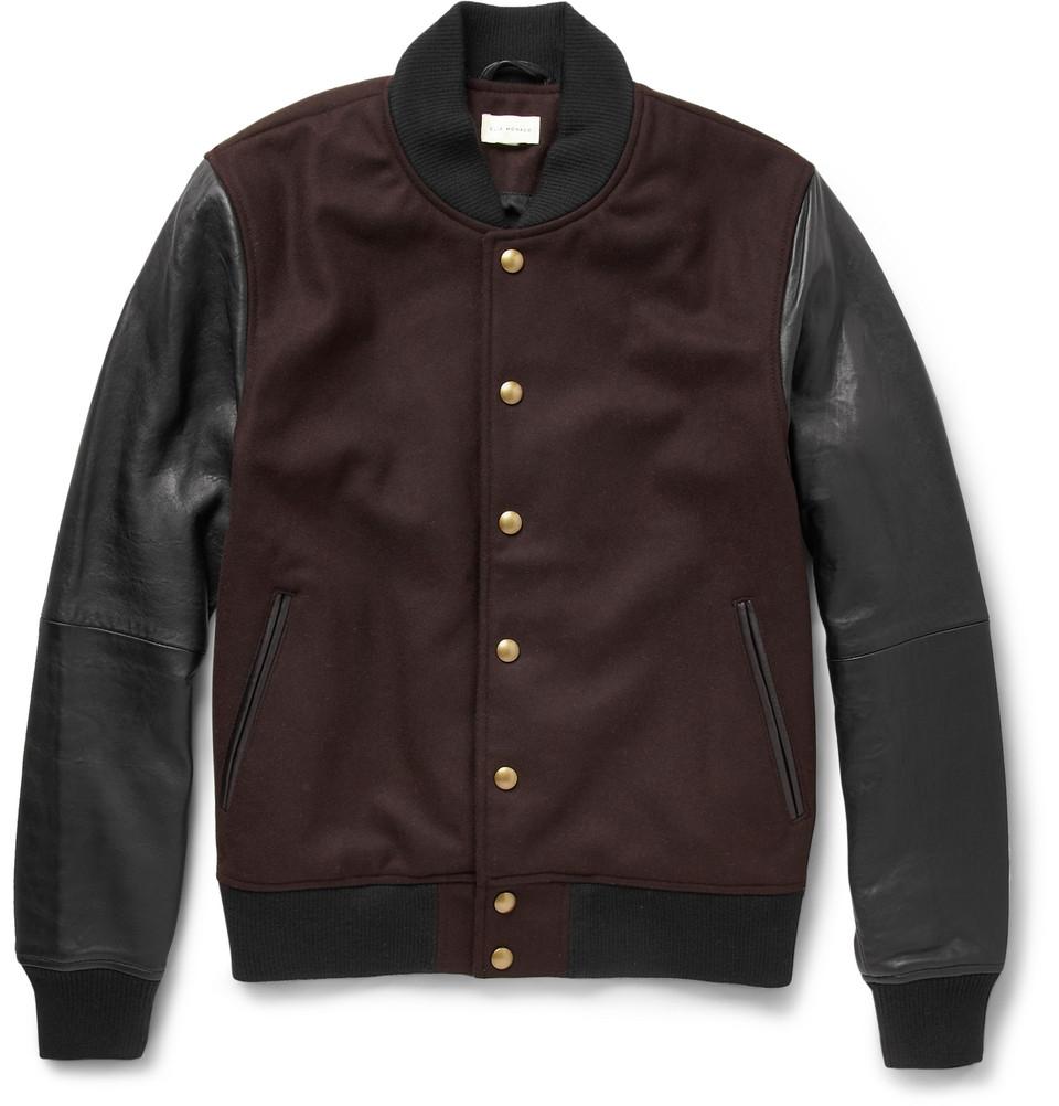 Leather club jacket