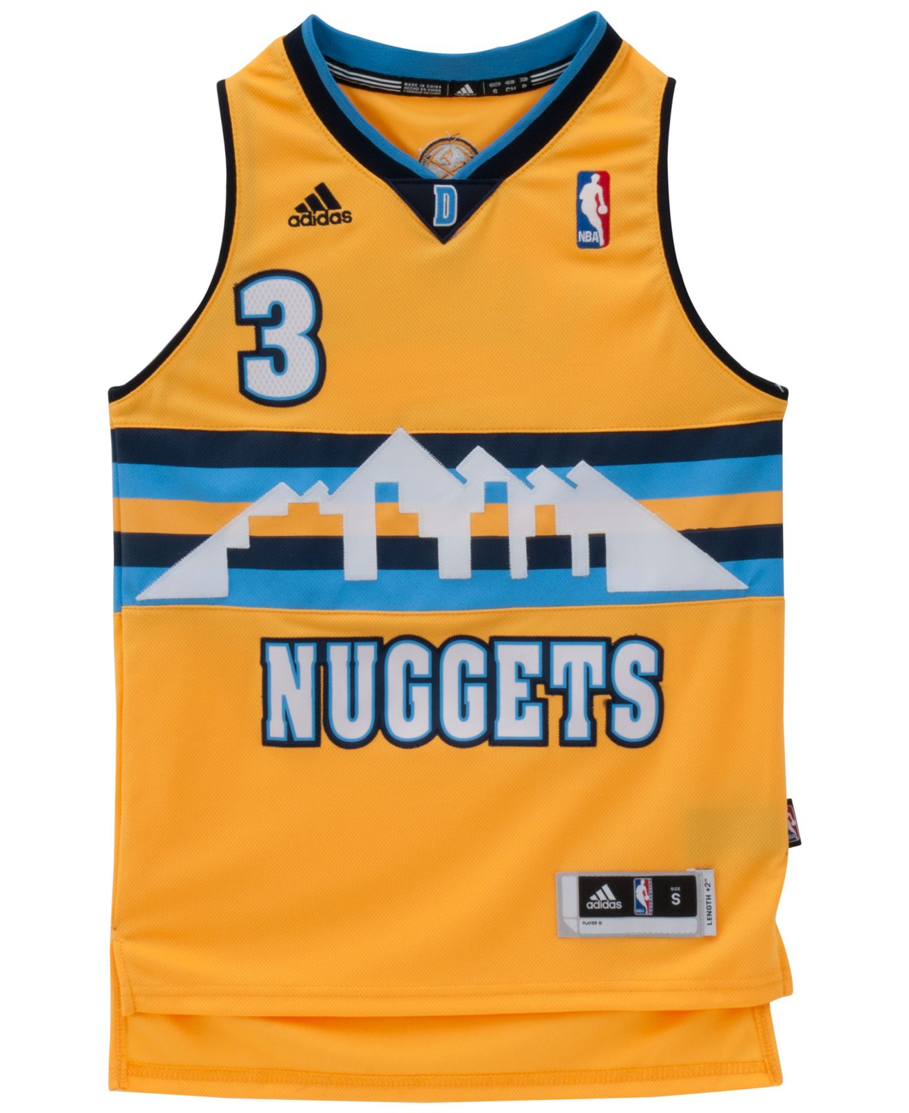 85a197d253d ... denver nuggets 5 nate robinson revolution 30 swingman 2014 new yellow  jersey filename adidas gold bo