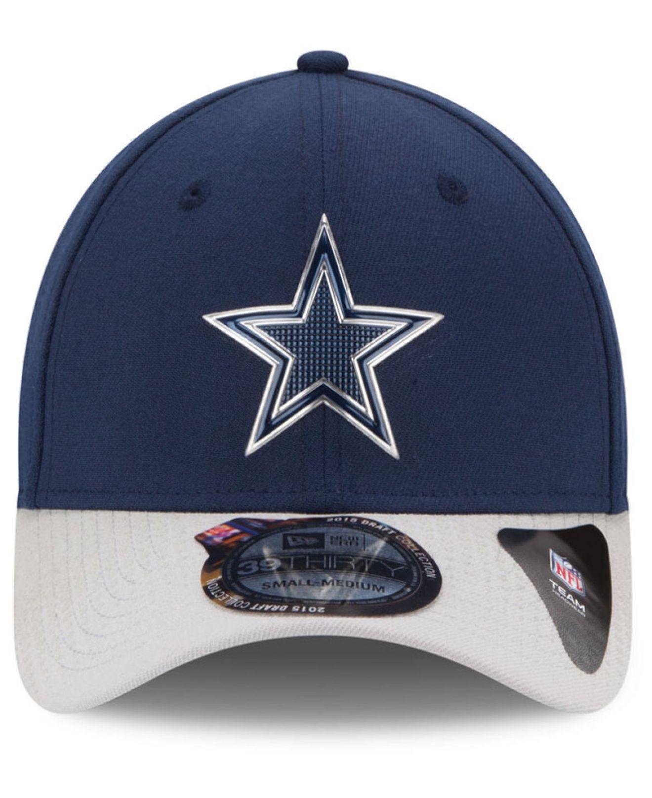 cheapest lyst ktz dallas cowboys 2015 nfl draft 39thirty cap in blue for  men d3dd9 b3df8 a1a1982dcac