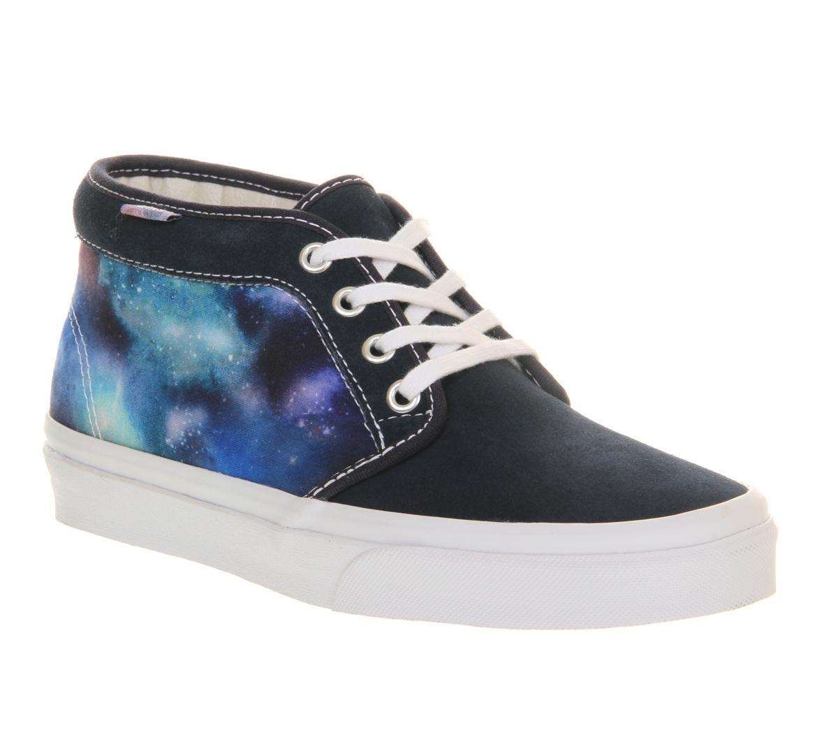 Vans Chukka Boots in Blue for Men | Lyst