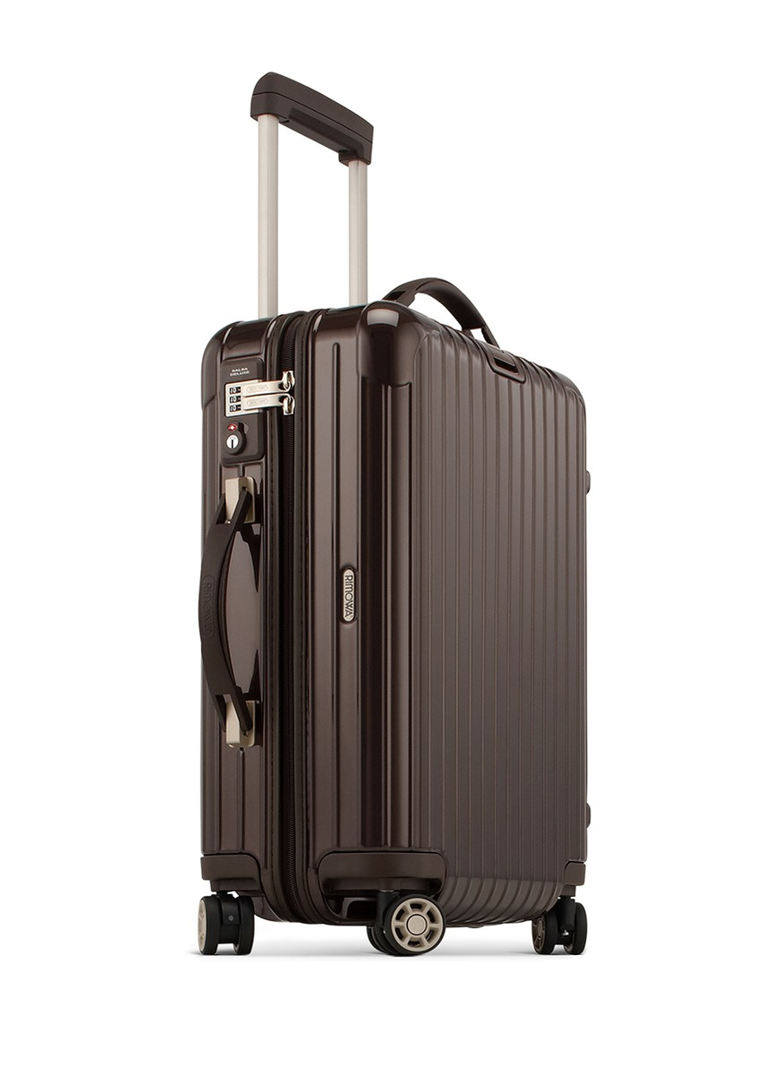 rimowa salsa deluxe cabin multiwheel iata brown 35. Black Bedroom Furniture Sets. Home Design Ideas