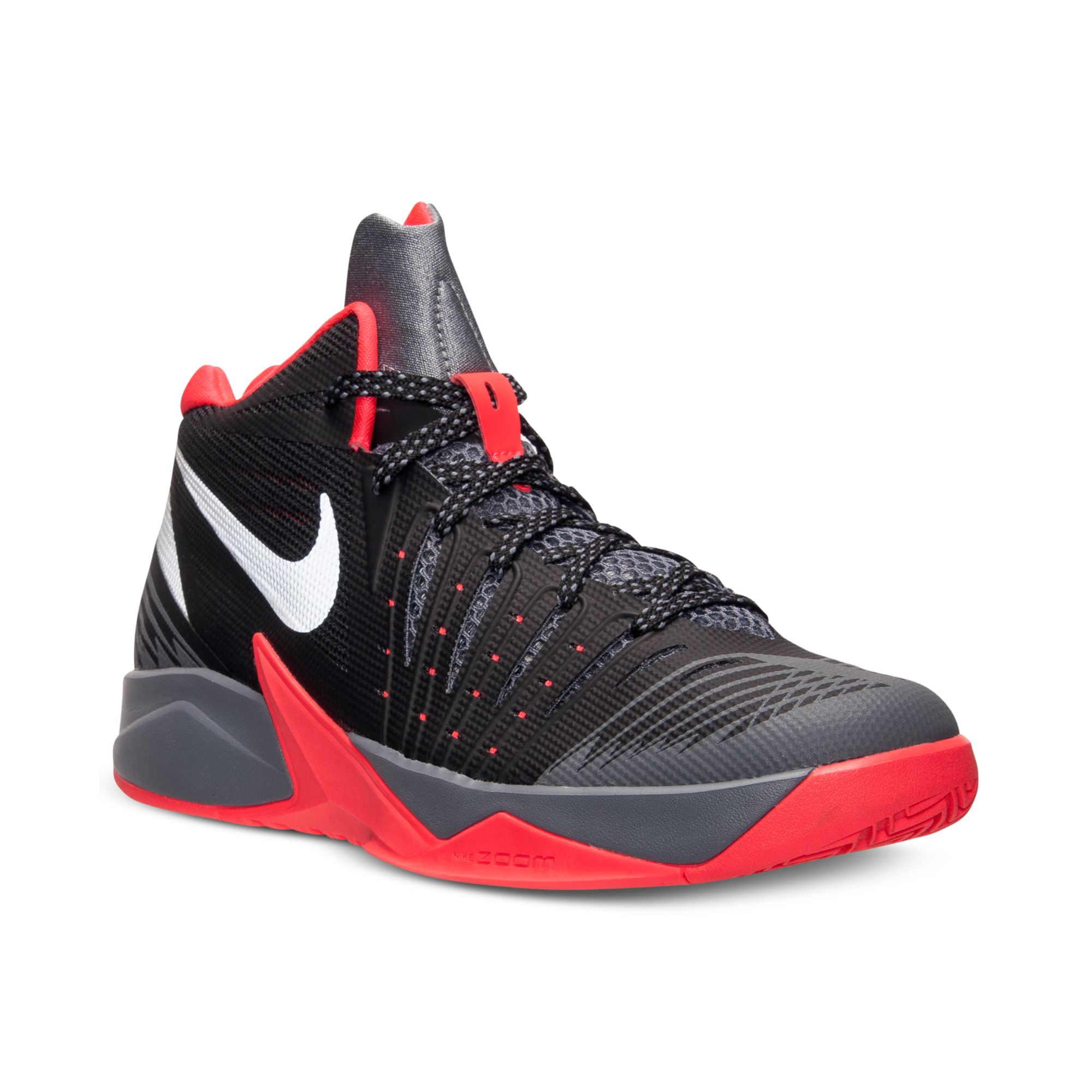 Nike Mens Zoom I Get Buckets Basketball Sneakers From ...