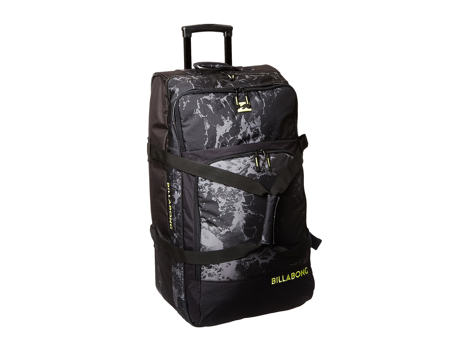 Lyst - Billabong Wheeled Luggage in Black for Men