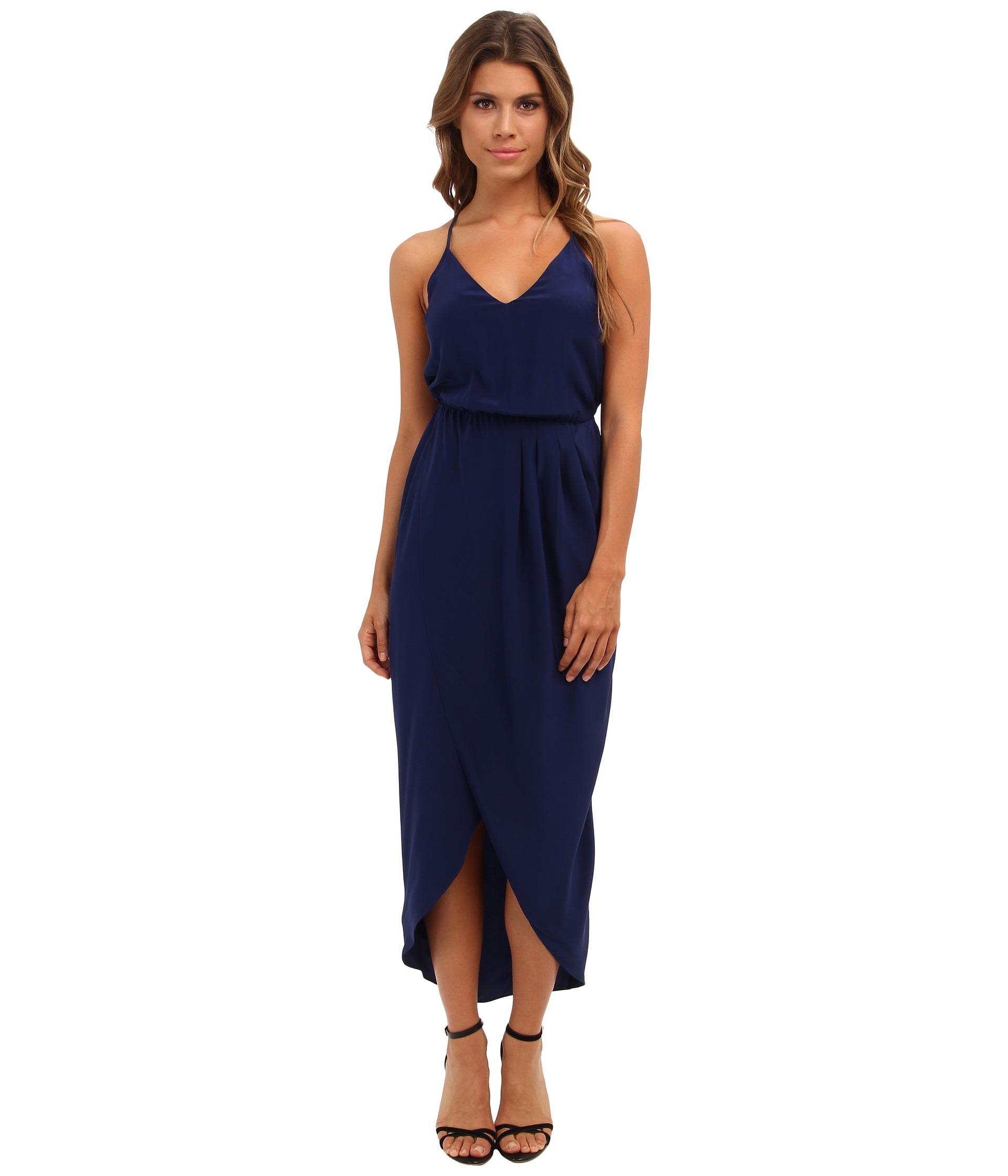 Amanda uprichard blue maxi dress