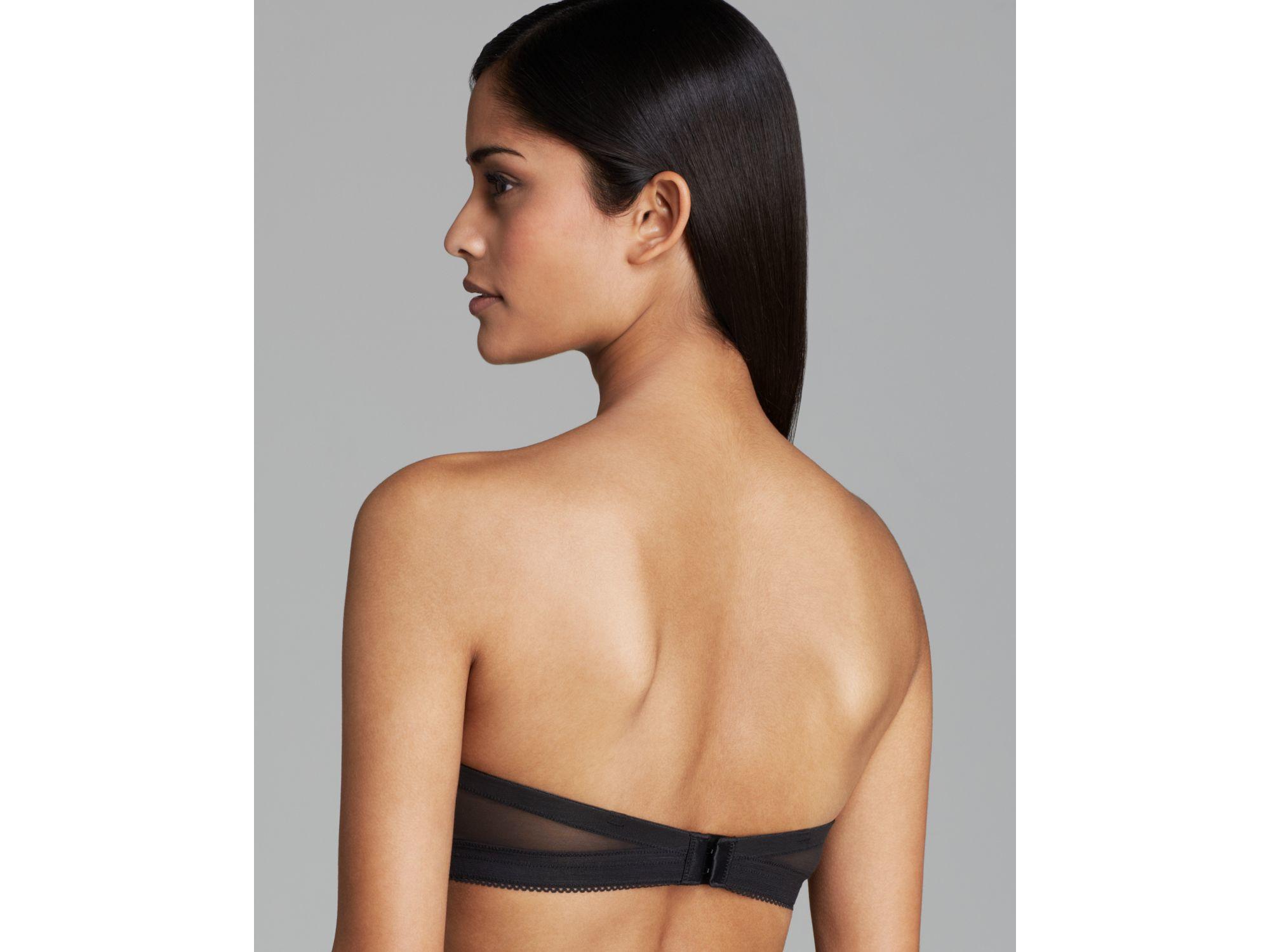 57a9ade754f3c Calvin Klein Bra - Icon Modern Strapless T-shirt  f3718 in Black - Lyst