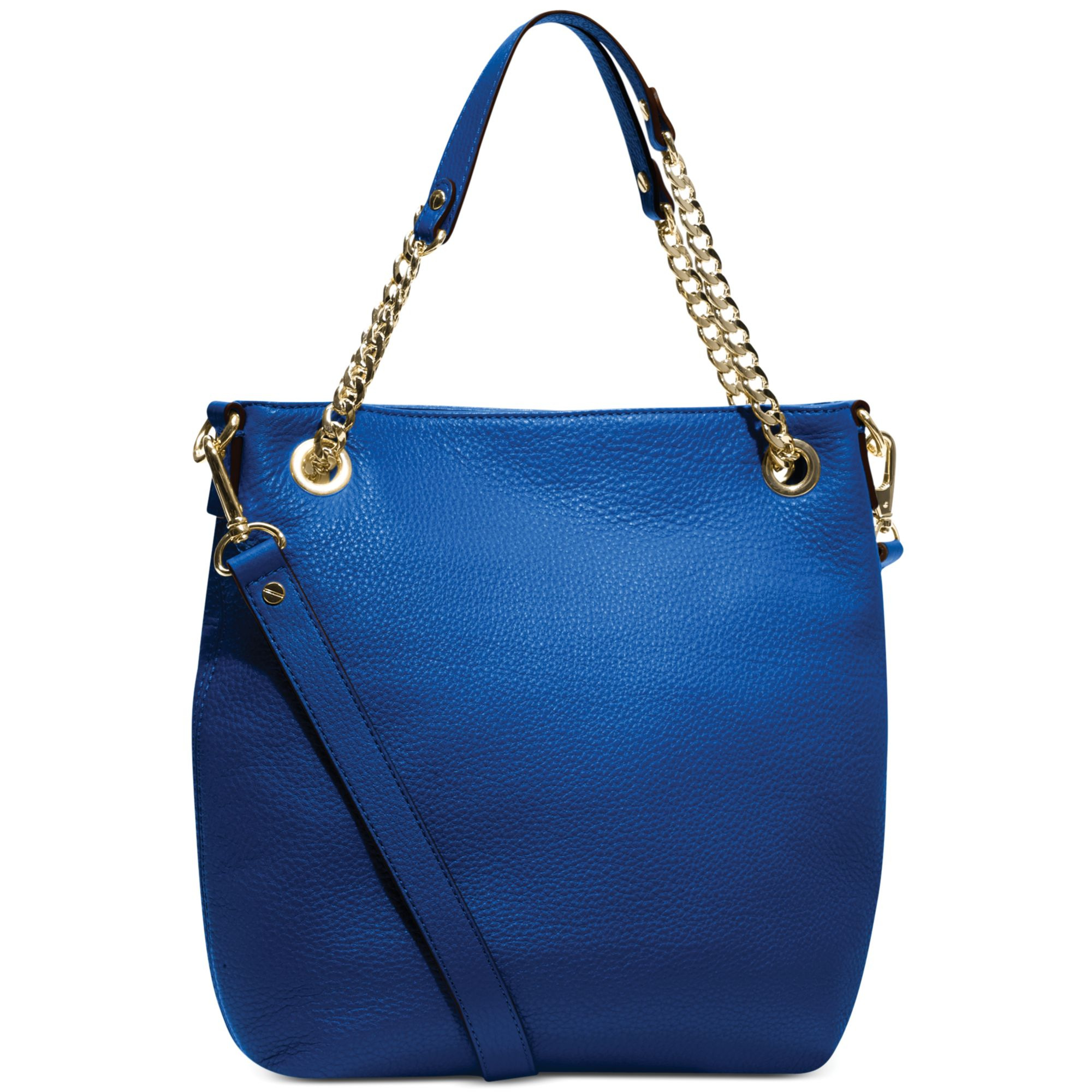 9c32b773c76385 Michael Kors Michael Jet Set Medium Shoulder Tote in Blue (SAPPHIRE) | Lyst