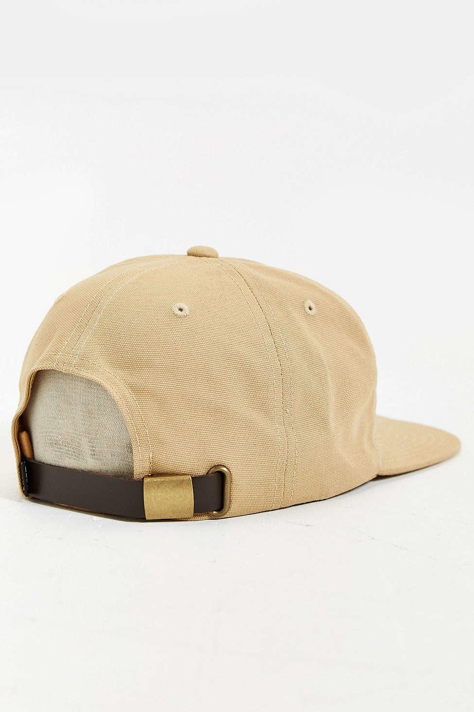 Lyst Obey Sun Strapback Hat In Natural For Men