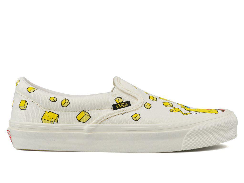 8229183e3d40 Lyst - Vans X Spongebob Og Classic Slip-on