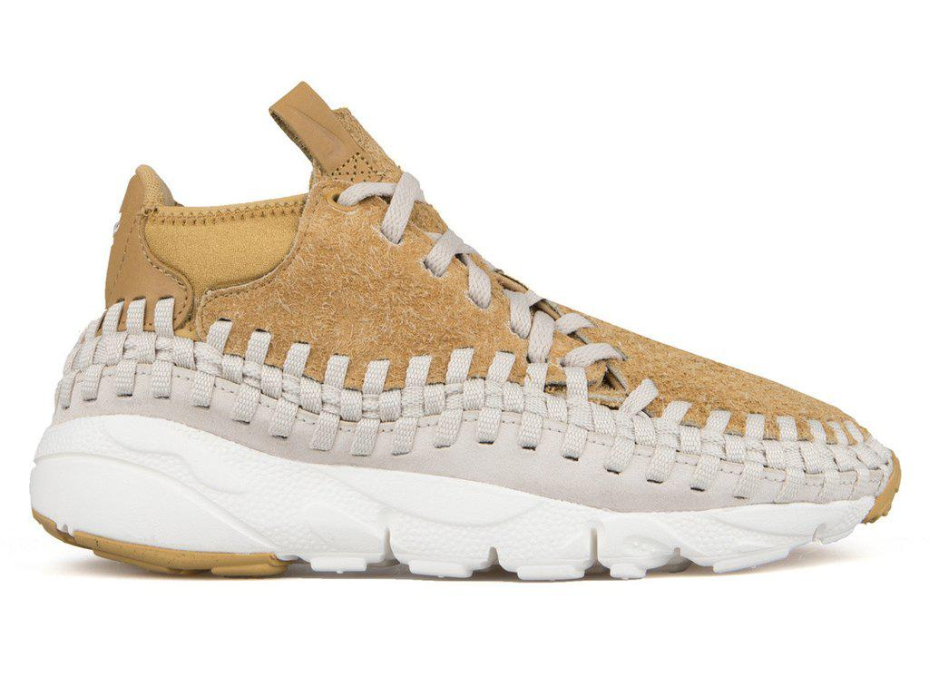 wholesale dealer 56ca0 76253 Lyst - Nike Air Footscape Woven Chukka Qs in Metallic