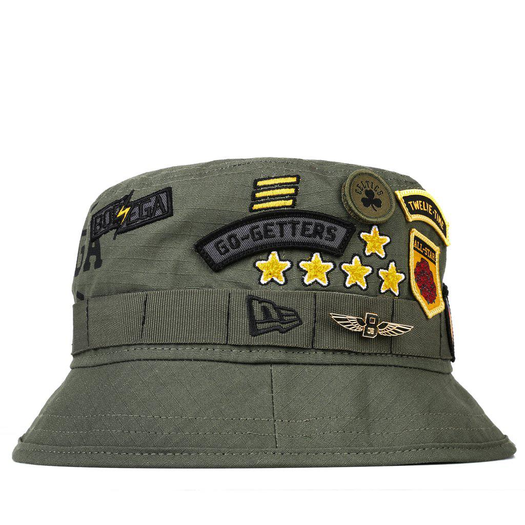 aab3d2aacdc Lyst - Bodega X New Era All Star Game Bucket Cap in Green for Men