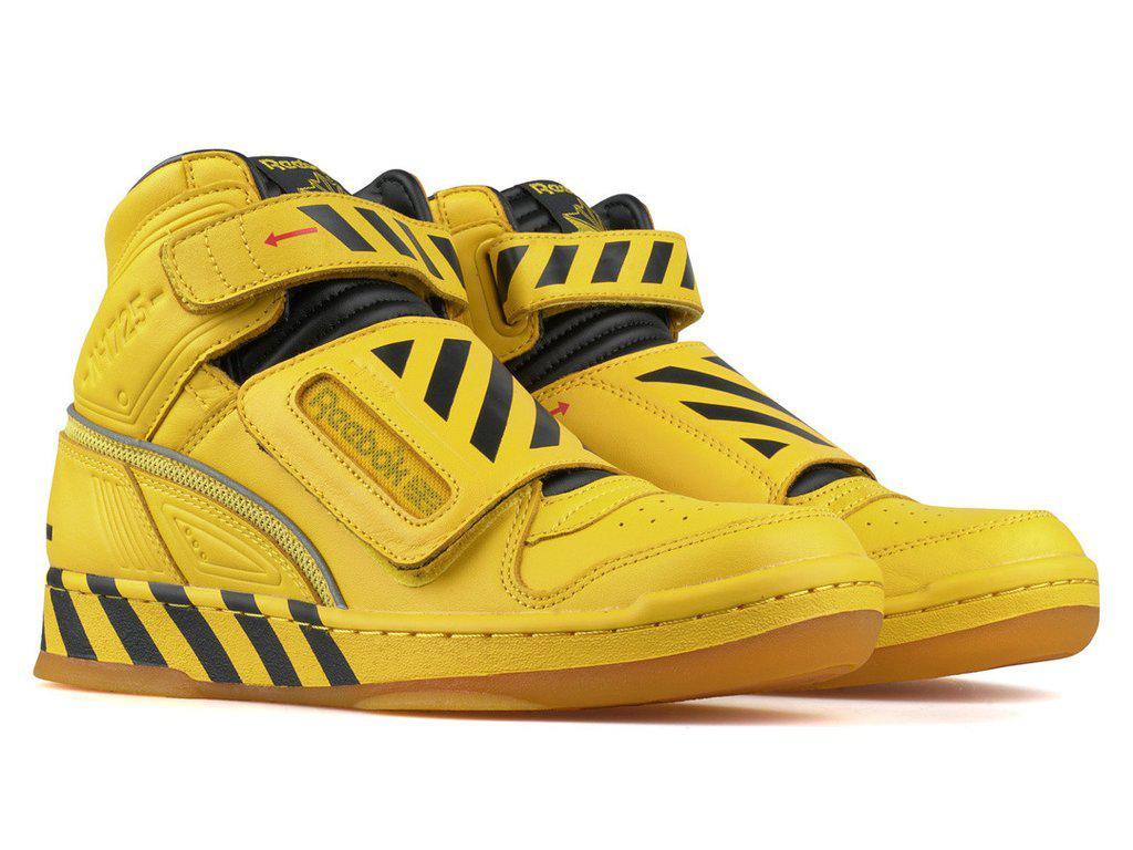 7f21da2367962e Lyst - Reebok Alien Stomper Mid Pack in Yellow for Men