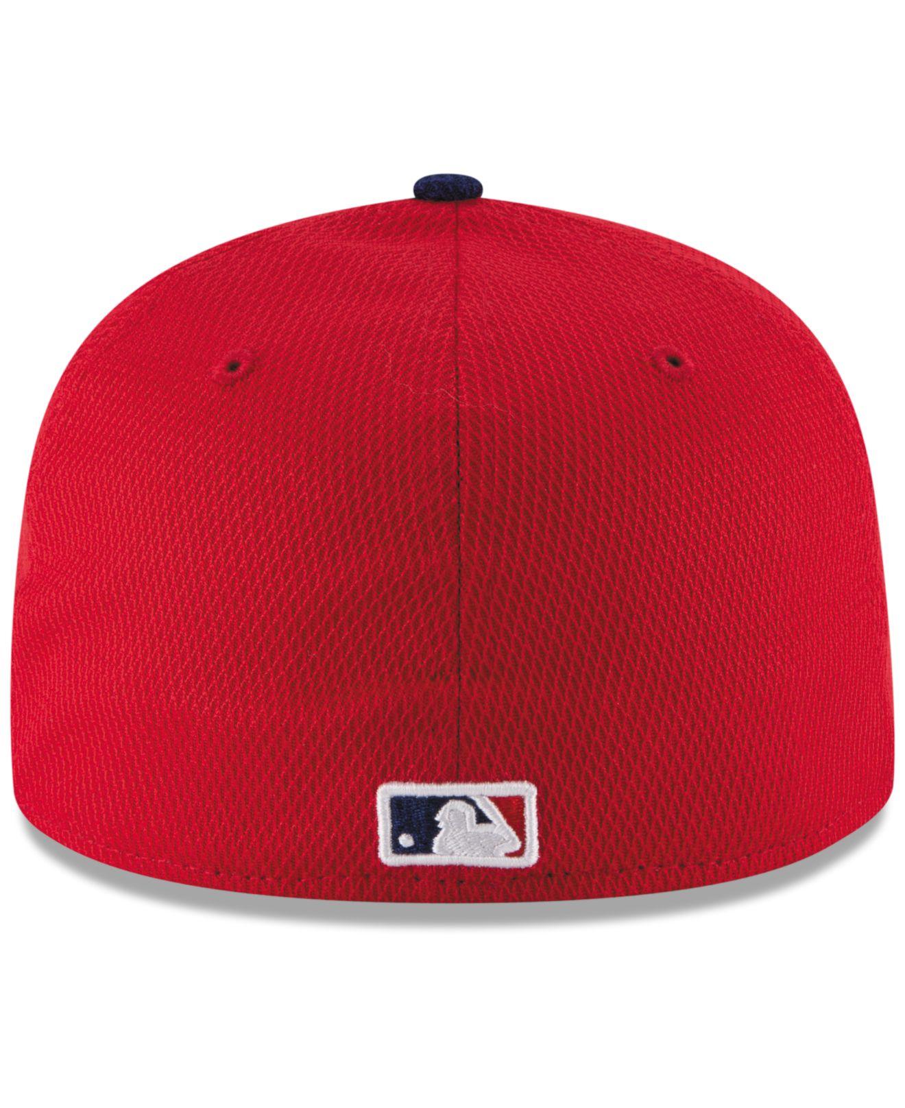 buy popular df726 62d7f Lyst - KTZ Kids  Philadelphia Phillies Diamond Era 59fifty Cap in ...