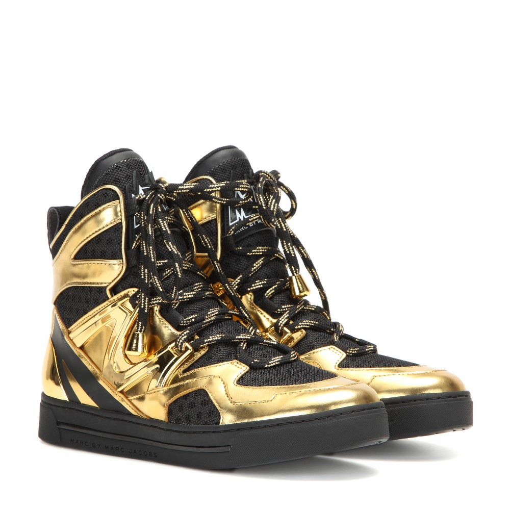 c0e2370e989c Marc By Marc Jacobs Ninja High-top Sneakers in Black - Lyst