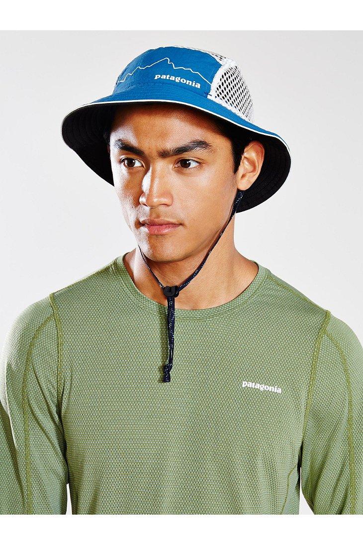 Lyst - Patagonia Duckbill Bucket Hat in Blue for Men 637fcd52603