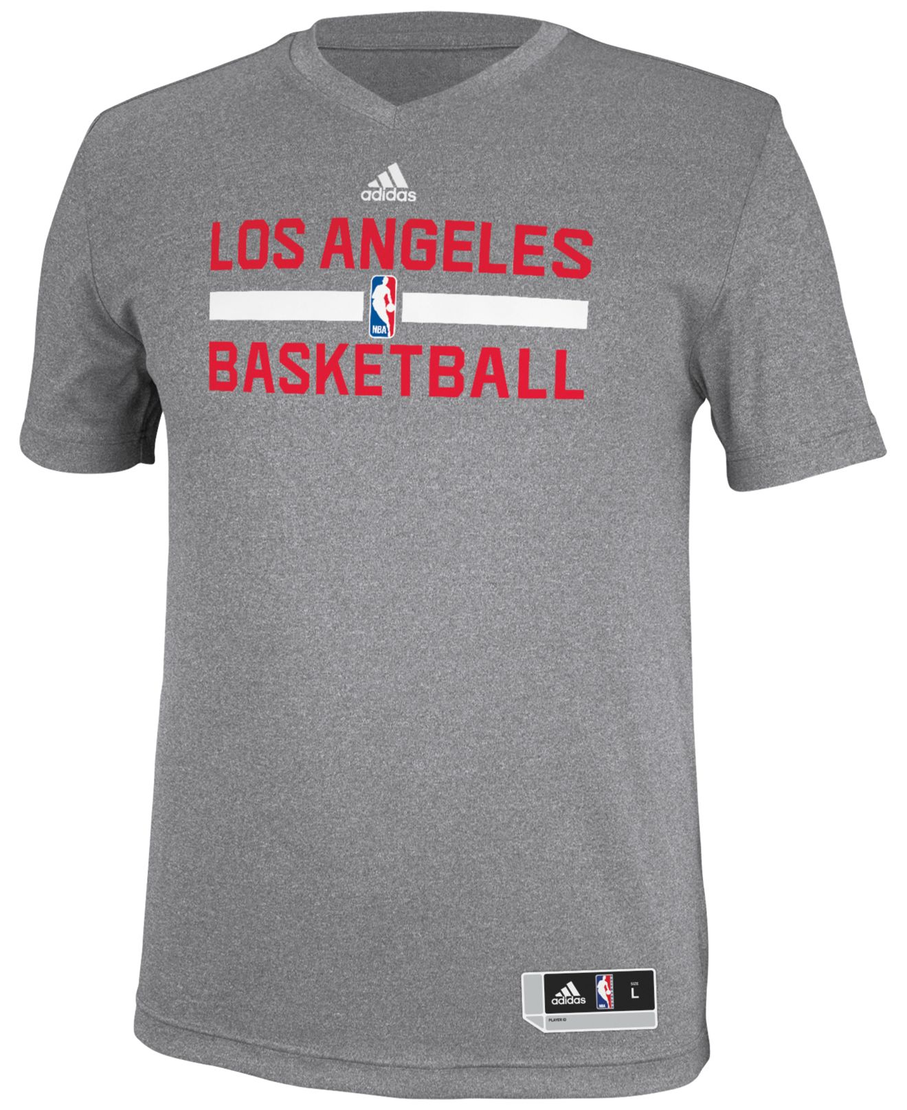 383c34be6 Lyst - Adidas Men s Los Angeles Clippers Practice Graphic T-shirt in ...