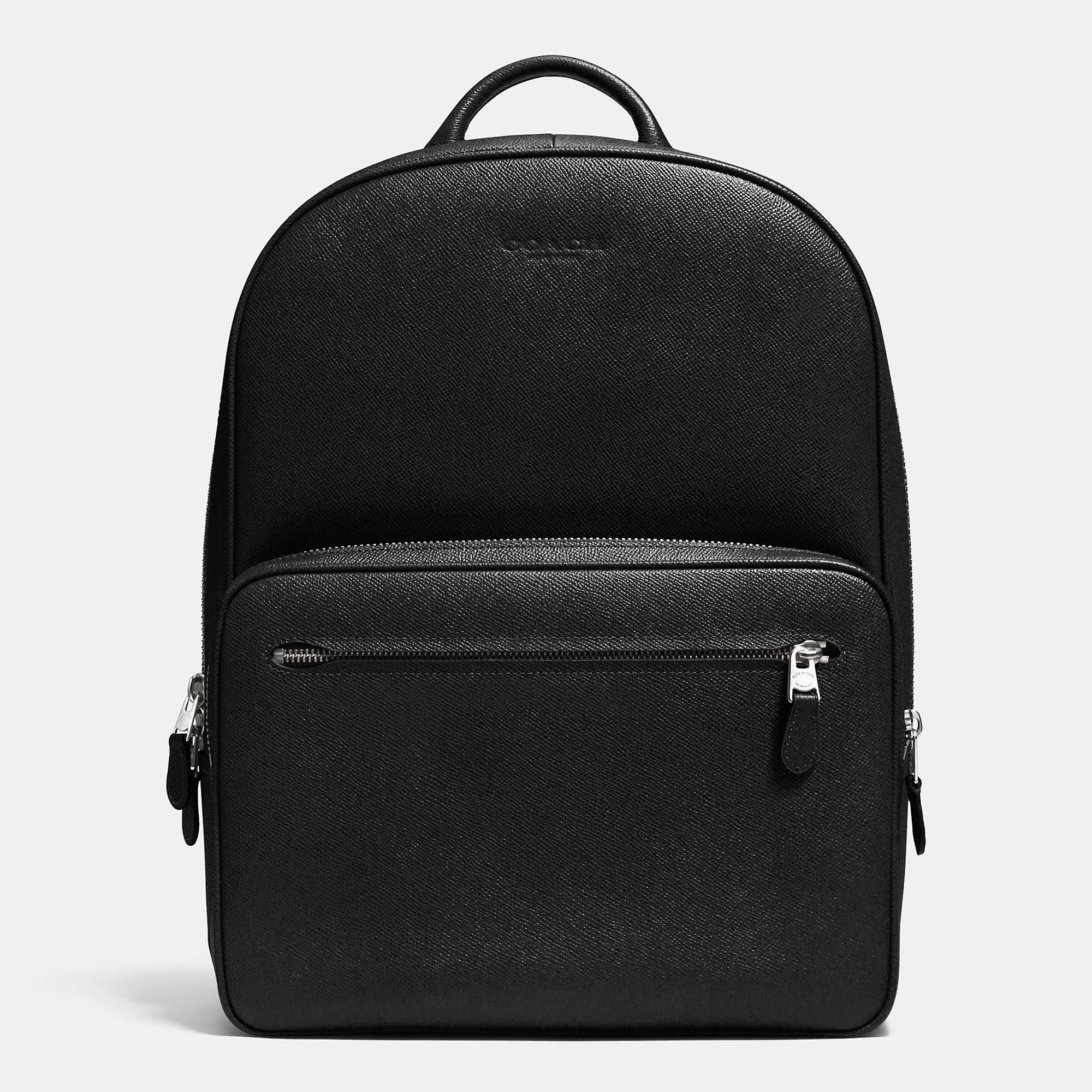 Lyst - Coach Hudson Backpack In Crossgrain Leather in ...