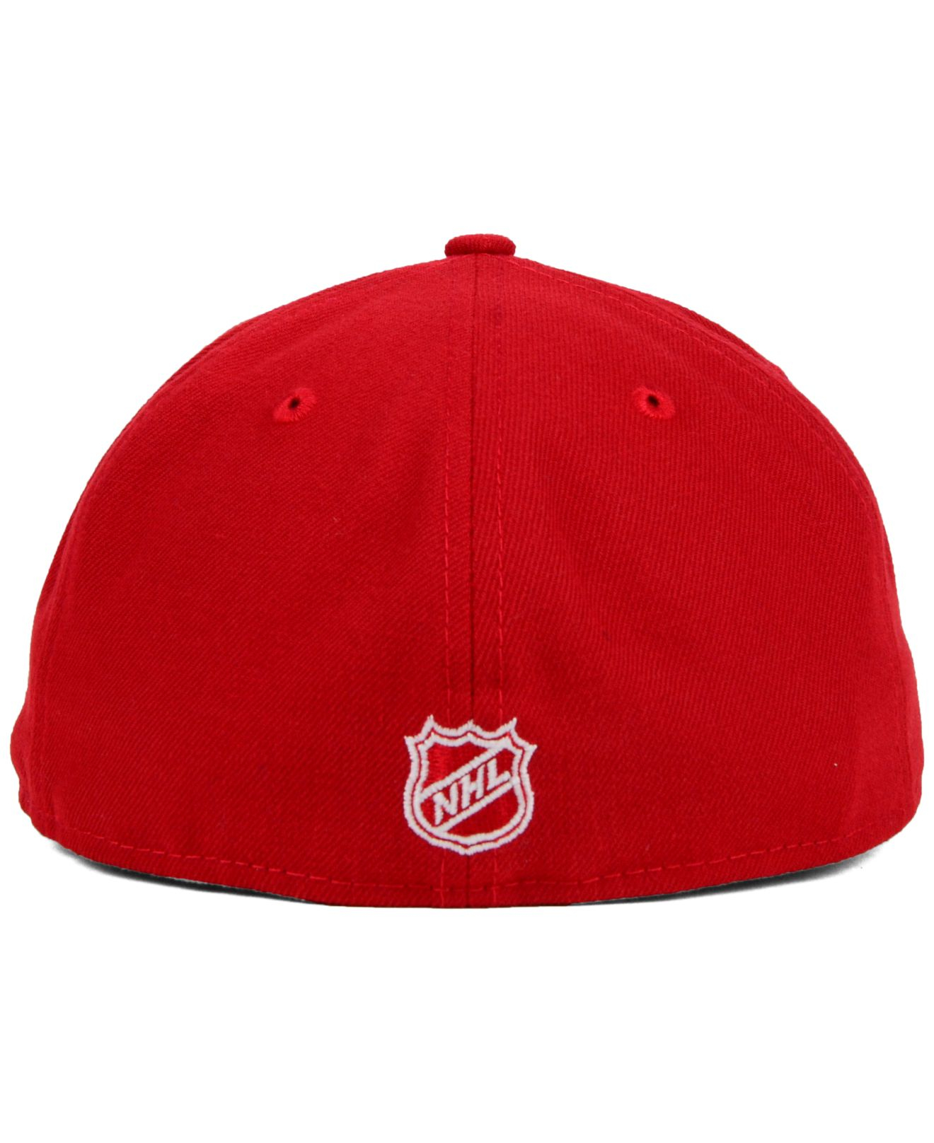 pretty nice 25e57 91eb6 KTZ Tampa Bay Lightning C-dub 59fifty Cap in Red for Men - Lyst