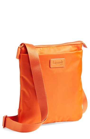 b0eba1867 Lipault Crossbody Bag in Orange for Men - Lyst