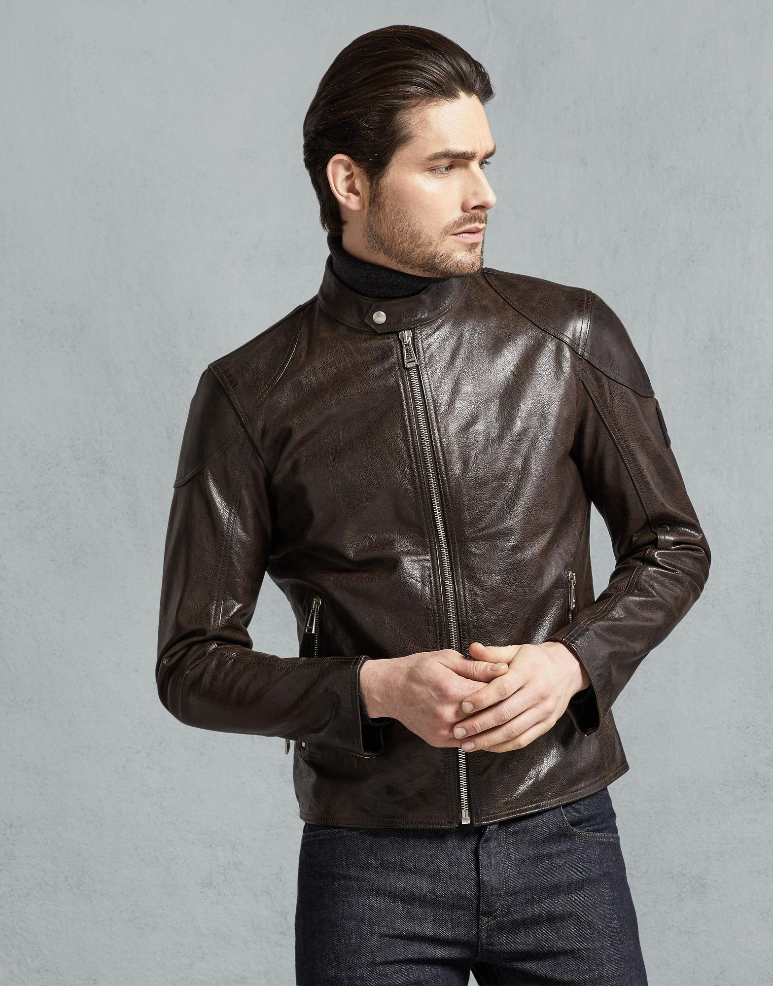 4edac7bbd04 Belstaff - Multicolor Bandit Café Racer Jacket for Men - Lyst. View  fullscreen