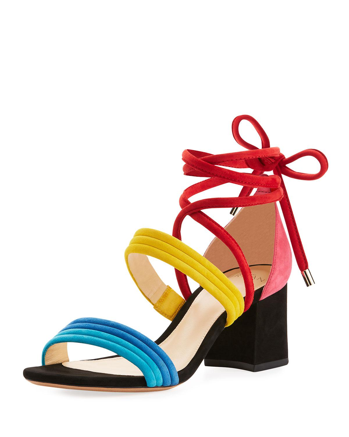 best sale online buy online outlet Alexandre Birman Aurora Colorblock Sandals outlet marketable with mastercard cheap price free shipping 2015 new RDEdvldz
