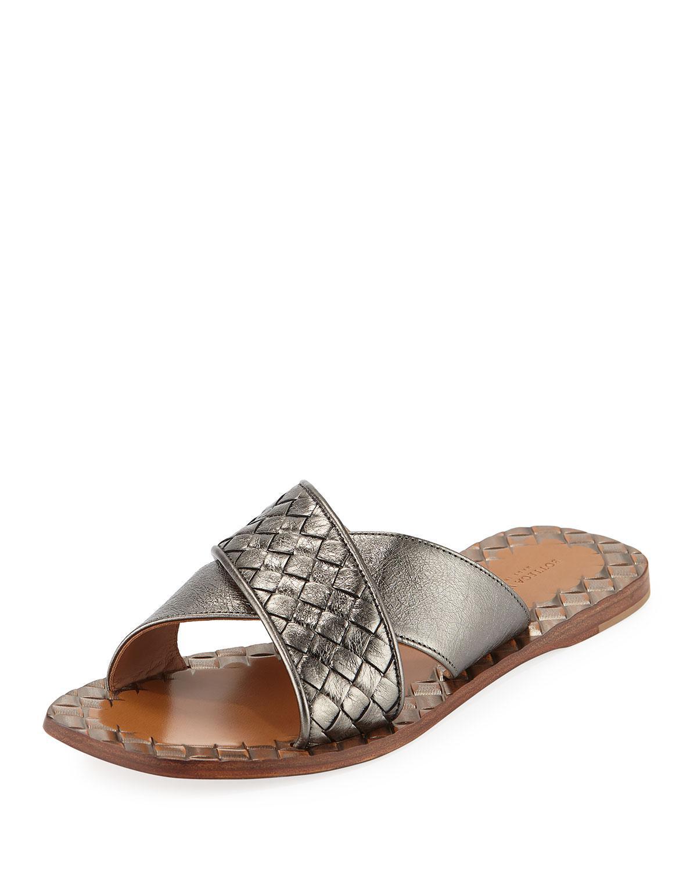 Bottega VenetaIntrecciato Criss Cross Sandals dlh70nf8bD