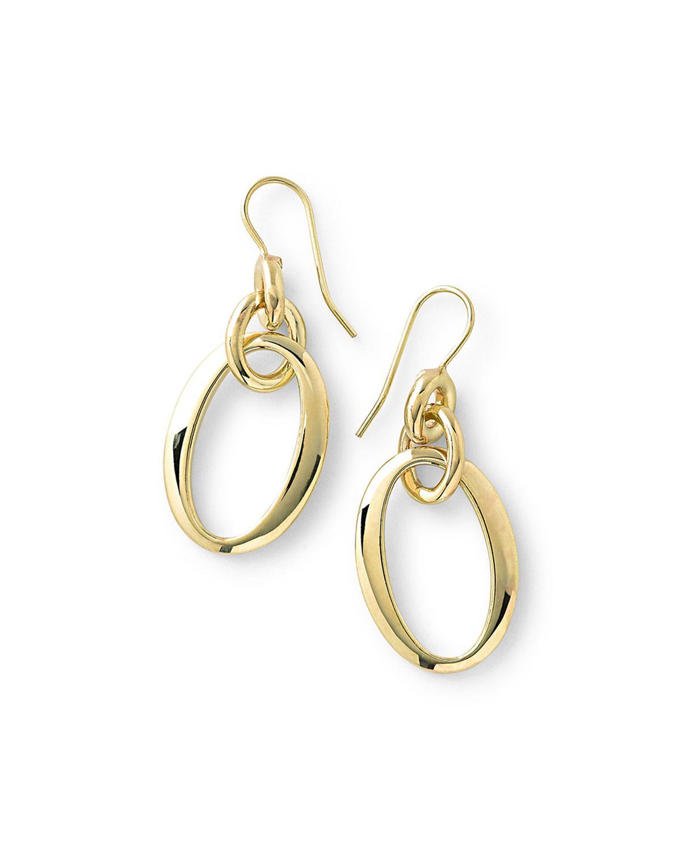Ippolita 18k Glamazon Short Oval Link Earrings HRc2tEZEdP