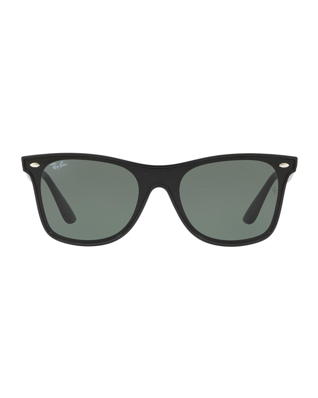 37fd86d32c Lyst - Ray-Ban Men s Blaze Wayfarer Lens-over-frame Square Sunglasses in  Black for Men